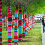 Yarn Bombing, quand le tricot devient Urbain